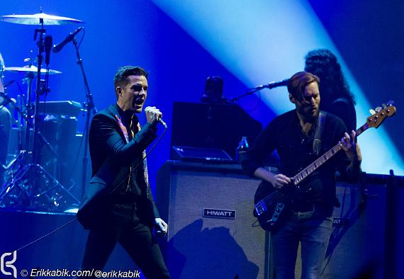 The Killers Lead singer Brandon Flowers and Bass Guitarist Mark Stoermer