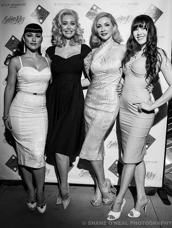 Melody Sweets, Sabrina Kelley, Ms. Redd and Claire Sinclair