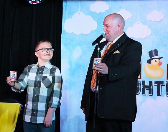 """Adam London's """"I Give A Duck"""" Campaign Kicks Off at the D Casino Hotel in Las Vegas"""