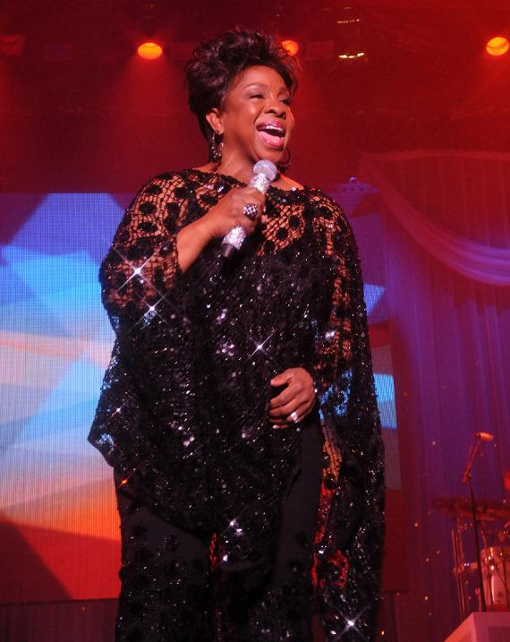 Gladys Knight performs at The Tropicana Las Vegas