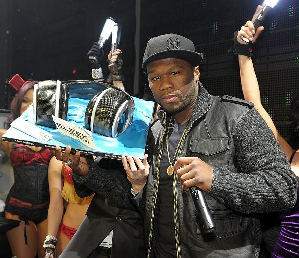 50 Cent Launches Sleek by 50 Cent headphones at Marquee Nightclub