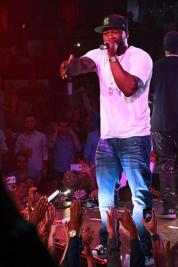 50 Cent Rocks Las Vegas on Eve of