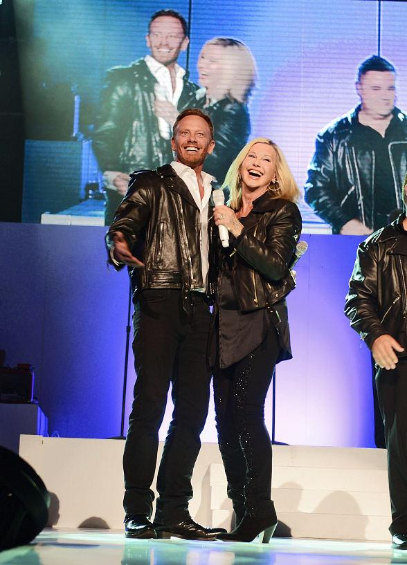 Ian Ziering Makes Guest Appearance in Olivia Newton-John's