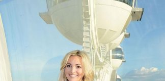 Singer / Songwriter Jamie Lynn Spears Rides the High Roller at The LINQ in Las Vegas