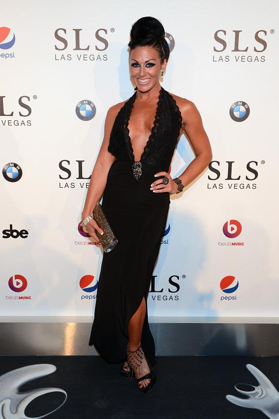 Choreographer/dancer Jennifer Romas attends the SLS Las Vegas grand opening celebration