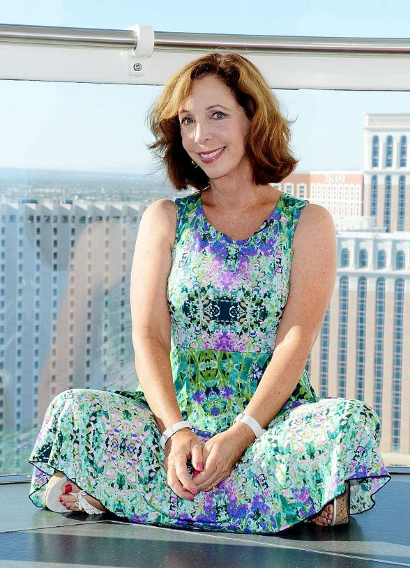 Comedian Rita Rudner Rides the High Roller at The LINQ in Las Vegas