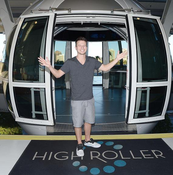 """""""America's Got Talent"""" Season 9 Winner Mat Franco and Top Finalists at the High Roller at The LINQ"""