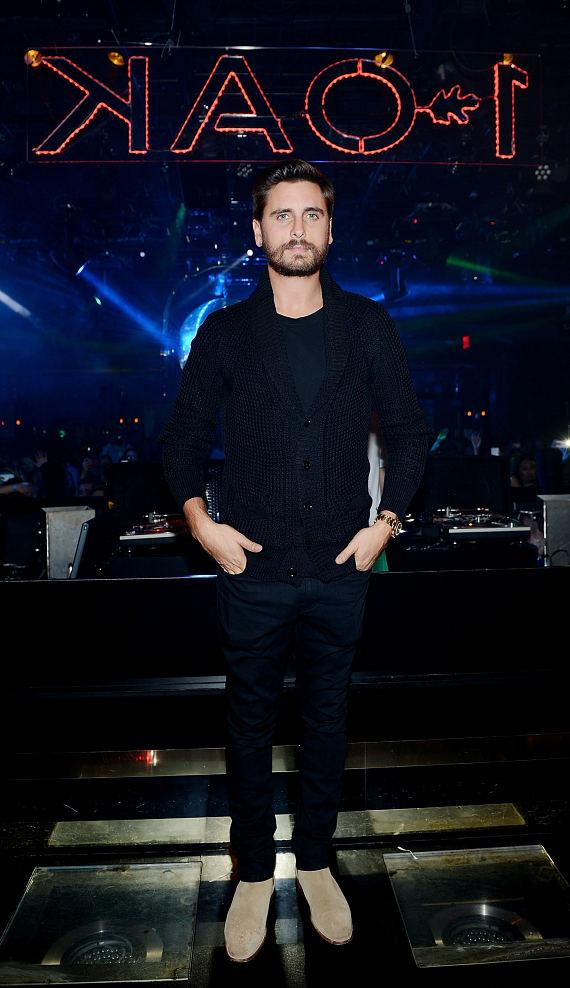 Scott Disick hosts at 1 OAK Nightclub at The Mirage in Las Vegas