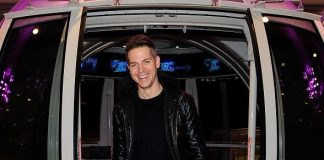 E! News Host Jason Kennedy Rides the High Roller at The LINQ in Las Vegas