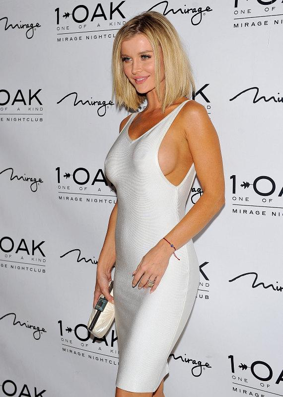 Model and Actress Joanna Krupa arrives at 1OAK Nightclub at The Mirage in Las Vegas