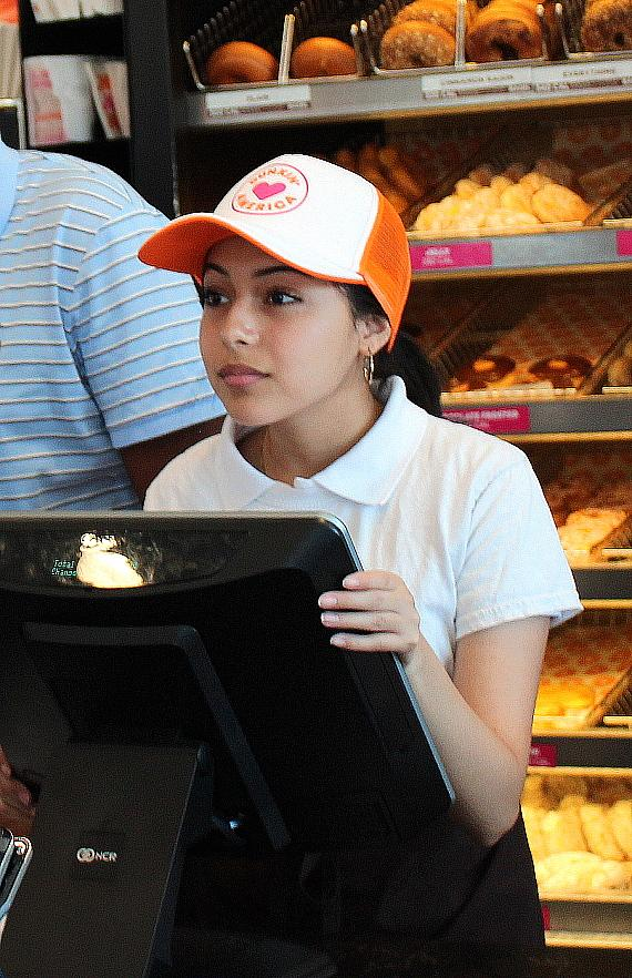 Dunkin' Team Member at Grand Opening of 22nd Store in Las Vegas