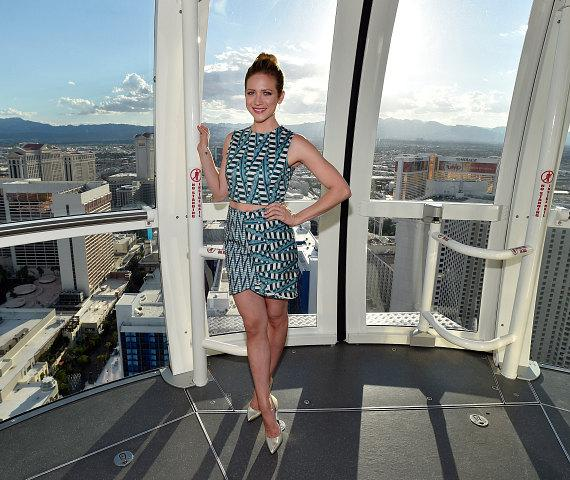 Brittany Snow on the High Roller