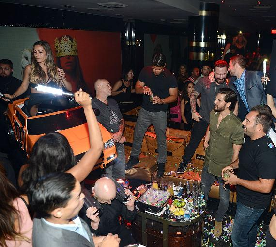 Scott Disick hosts at 1 OAK Nightclub at The Mirage Hotel & Casino on June 26, 2015 in Las Vegas