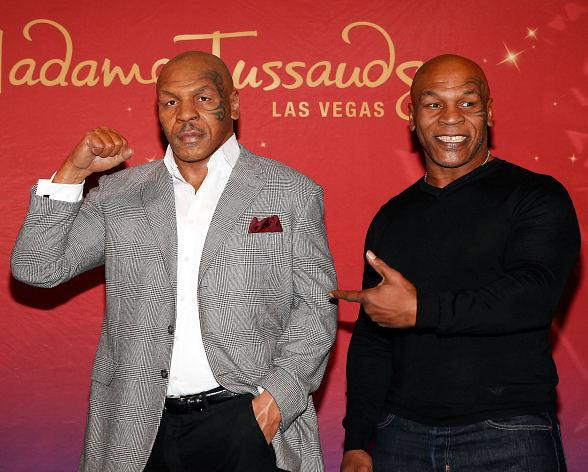 Boxing Legend Mike Tyson Unveils World's First Mike Tyson Madame Tussauds Wax Figure in Las Vegas
