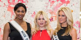 Miss USA 2013 Nana Meriwether and Miss Nevada USA 2013 Chelsea Caswell Support the Troops