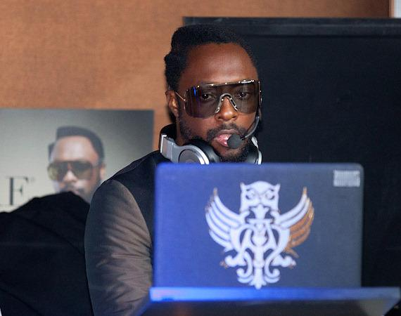 Will.i.am performs DJ set at PURE Nightclub
