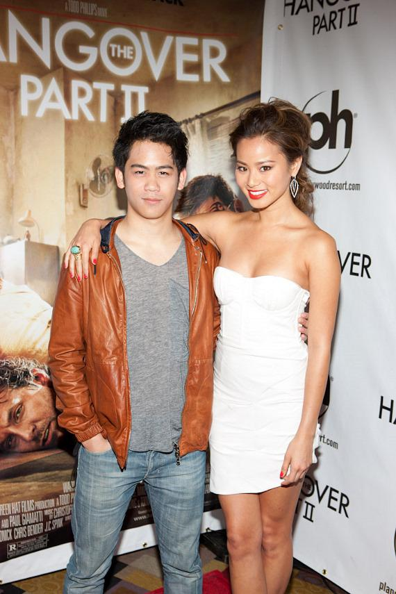Mason Lee and Jamie Chung
