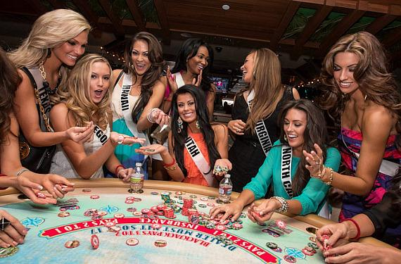 Miss USA contestants play Blackjack at Margaritaville Casino at Flamingo  Las Vegas | VegasNews.com - Las Vegas News
