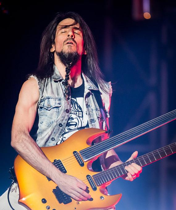 """Ron """"Bumblefoot"""" Thal performs with Guns N' Roses at The Joint in Las Vegas"""