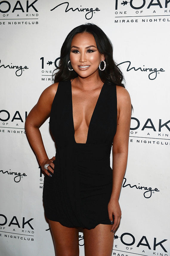 Dorothy Wang of Rich Kids Of Beverly Hills arrives for her birthday celebration at 1 OAK Nightclub at The Mirage Hotel & Casino on January 29, 2016