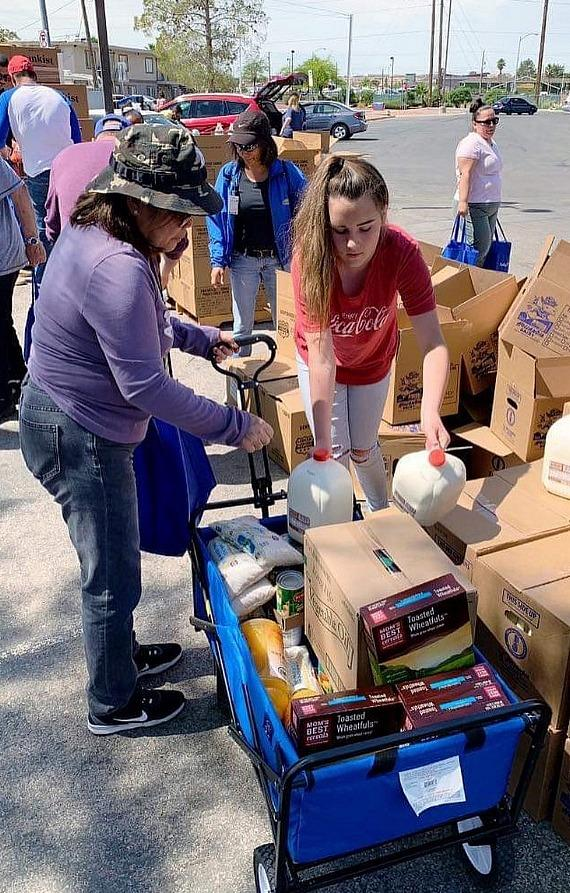 Nevada's Largest Mobile Food Pantry Celebrates its 5th Birthday with Annual White Party, July 13 - A Fundraiser to Help at-Risk, Low Income Families, Seniors and Children