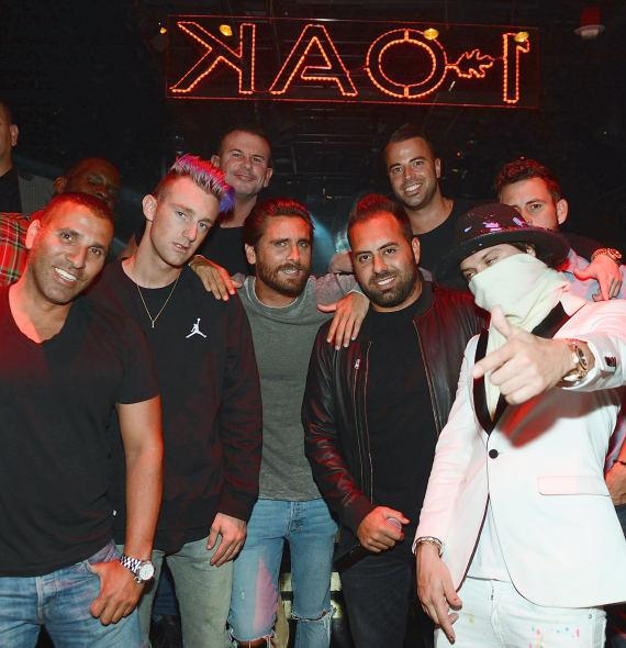 Reality Star Scott Disick hosts 1 OAK Nightclub Inside The Mirage