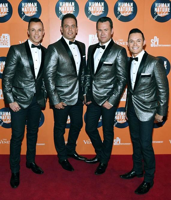 Australian Pop Vocal Group Human Nature arrives at The Venetian Las Vegas