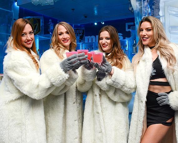 Minus5 Ice Experience Honors X Rocks with the Rock 'n' Roll Inspired 'The Peek A Boo Cocktail'