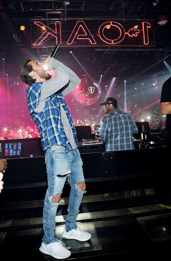 Reality star Scott Disick hosts Labor Day Weekend at 1 OAK Las Vegas in The Mirage Hotel and Casino