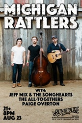 Americana Band Michigan Rattlers to Perform at Bunkhouse Saloon in Las Vegas August 23, 2018