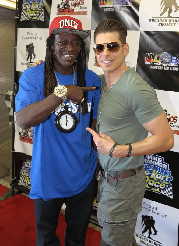 Mike Hammer's Celebrity Go-Kart Race Photo Gallery #1 by Edison Graff with Flavor Flav, Tape Face, Brooks Thurman, Gordie Brown, Dixie Miranda, Johnny Kats and more!