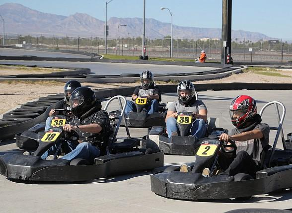 Celebrities and guests compete to be in the final championship race