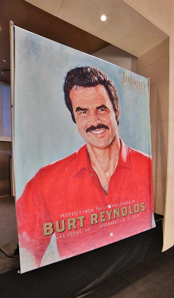 Julien's Auctions Hosts Free Public Exhibit of Burt Reynolds Collection Prior to Auction at The Palms