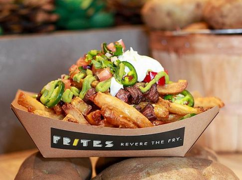 The new VGK Fortress Fries at Frites