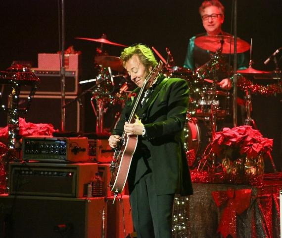 Brian Setzer Orchestra performs at The Pearl at Palms Casino Resort