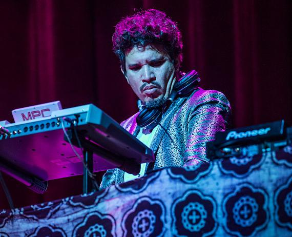 Thievery Corporation performs at Brooklyn Bowl Las Vegas at The LINQ