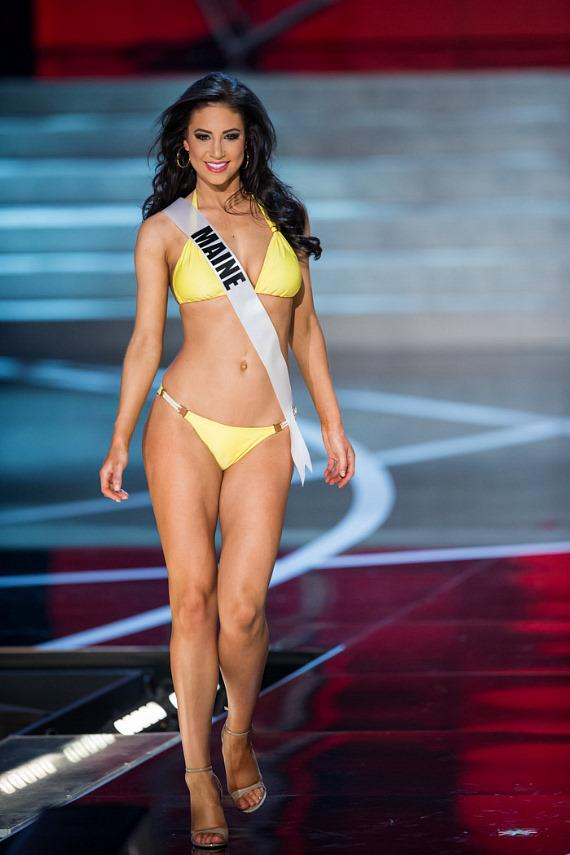 Miss Maine in Miss USA 2013 swimsuit competition