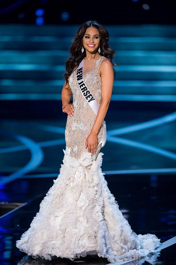 Miss New Jersey in Miss USA 2013 evening gown competition