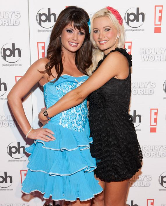 Laura Croft and Holly Madison