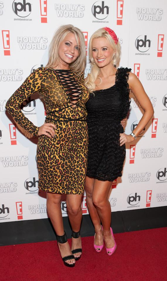 Angel Porrino and Holly Madison