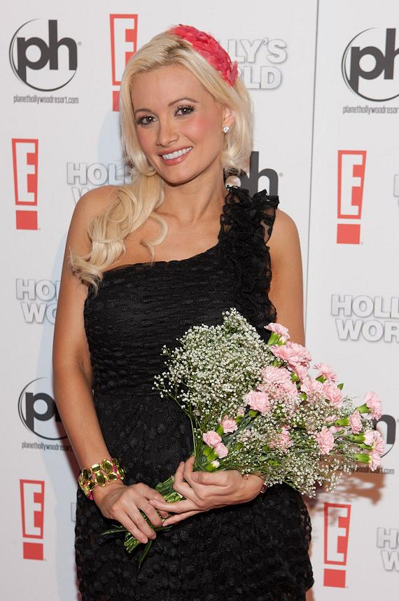Holly Madison, star of Holly's World, at Planet Hollywood