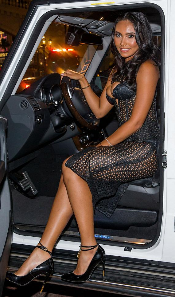 Shaniece Hairston with New Mercedes Benz G550