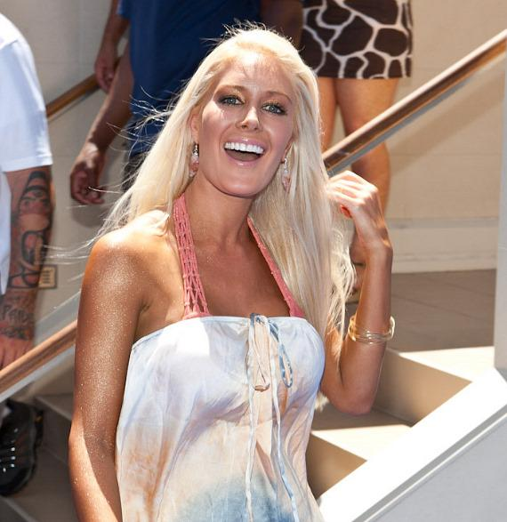 Heidi Montag hosts at Wet Republic at MGM Grand Hotel & Casino