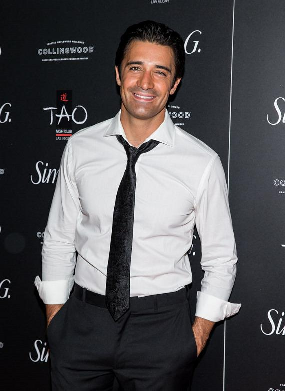Gilles Marini on red carpet at Simon G soiree in TAO Las Vegas