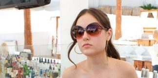 Sasha Grey hosts and DJs at Nikki Beach at The Tropicana in Las Vegas