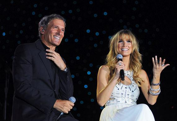 Michael Bolton and Delta Goodrem perform at The Eastside Cannery