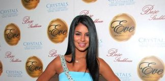 Miss USA 2010, Rima Fakih, hosted Femme Fatale Friday at Eve Nightclub