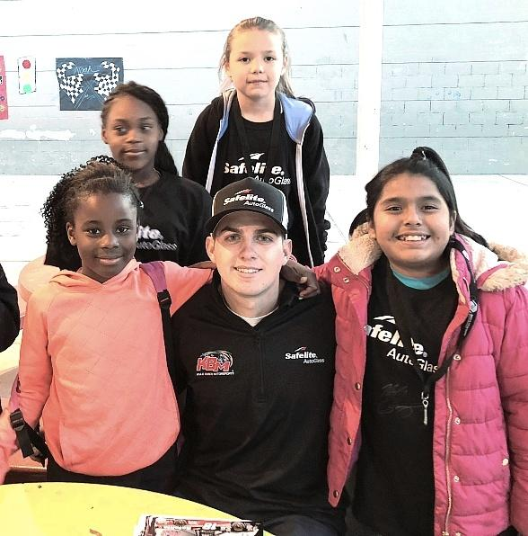 Safelite Autoglass and NASCAR Drive Noah Gragson Give Back to Boys & Girls Clubs of Southern Nevada
