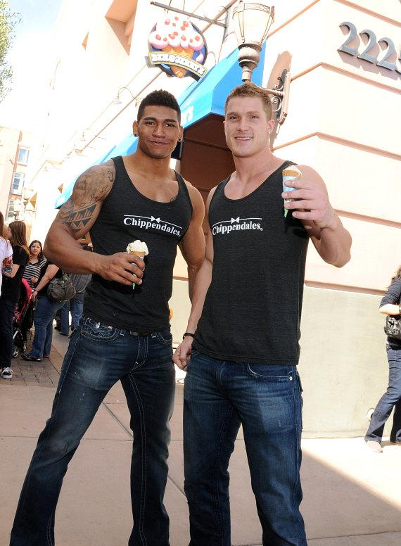 Chippendales at Ben & Jerry's