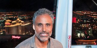"""Rick Fox experiences The High Roller for an episode of his show """"Rick Fox After Dark"""""""